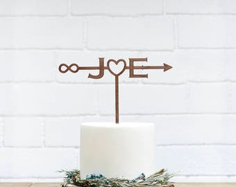 Customized Wedding Cake Topper, Personalized Cake Topper for Wedding, Custom Personalized Wedding Cake Topper, Monogram Cake Topper-20