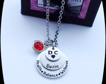 Chiropractor Gift, Manual Therapy,  DC jewelry, Chiropractor Office, Chiropractor Jewelry, Hands On, Spine Manipulation, engraved