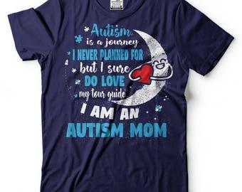 Autism Journey T-Shirt Autism Mom Tee Shirt Autism Awareness Tee Shirt