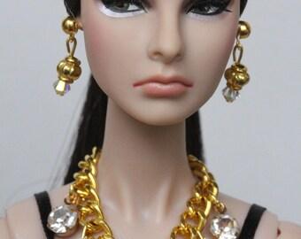 Doll jewelry set for Fashion Royalty, Poppy Parker, Barbie