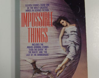 Impossible Things by Connie Willis Bantam Books 1994 Vintage Sci-Fi Paperback