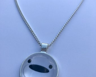 We Bare Bears Inspired Fan-Made Ice Bear Necklace