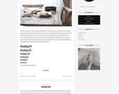Premade Wordpress Theme - Blog Responsive Wordpress Template Design - Genesis Child Theme // 'Salvatore'