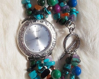 Vintage LUCORAL Quartz BRACELET WATCH Vintage Ladies watch