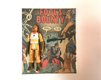 Vintage Star Wars Bossk Action Figure (1980) With Custom Gift Box