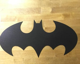 Batman steel metal sign wall art
