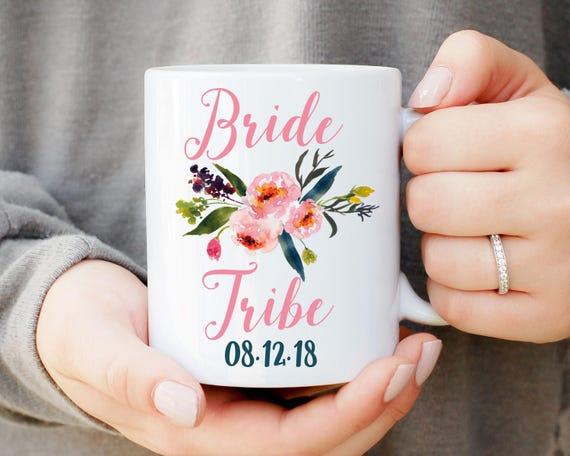 Bride Tribe Mug, Bride Tribe Cup, Bridesmaid Mug, Bridal Party Gift, Maid of Honor Gift, Wedding Party, Bridesmaid Gift, Bridal Party Favors
