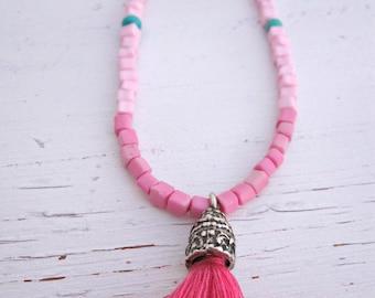 BARAKA Pink Choker