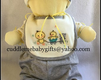 Baby Shower Unique Baby Duckie Neutral Gender Baby Shower Gift and Baby Shower Decoration