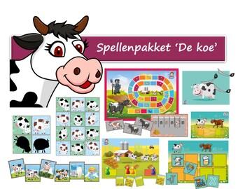 Kindergarten Cow games