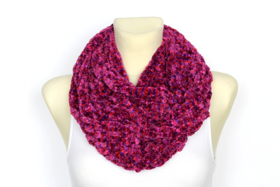 Scarf Winter Large Snood Knit Chunky Bulky Present Cowl Festival Women Scarf Bulky Scarf Chunky Infinity Scarf Chunky Knit Xmas Gift for her