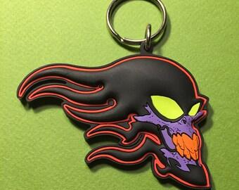 Tribal Skull • PVC Keychain