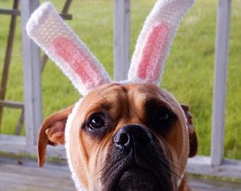 Crocheted Bunny Ears