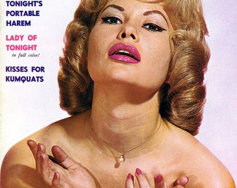 Tonight Magazine  1960  Issue 4   Pinups  Models  Starlets  Actresses and many Beautiful Women   mature