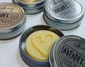 SOLID LOTION BAR - Lavender - 100% Natural & Vegan!