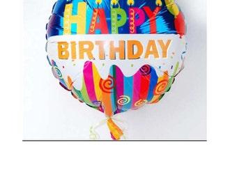 "Balloon ""Happy Birthday"""