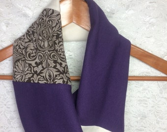 SALE Infinity Scarf Upcycle Scarf/cowl CHRISTMAS Gift