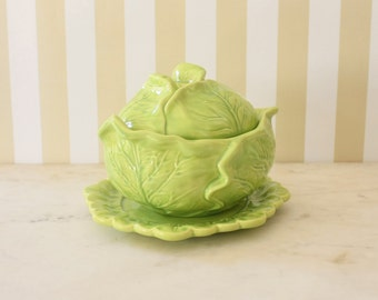 Vintage Holland Mold Green Cabbage Soup Tureen