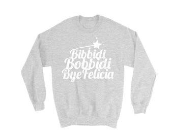 Bibbidi Bobbidi Bye Felicia Sweater | Bibbidi Bobbidi Boo suéter | Suéter de Cinderlla | Suéter de Disney divertidos | Disney vacaciones suéter