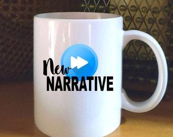 New Narrative/Off Narrative Funny Coffee Mug, Westworld Mug