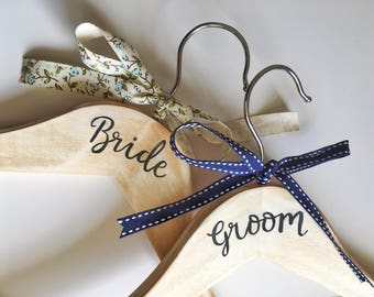 Wedding Hangers, Bridal Hangers, Bridal Hanger, Bride Hangers, Bridesmaid Hanger, Bridal Gown Hanger, Bridesmaids Hangers, Dress Hanger