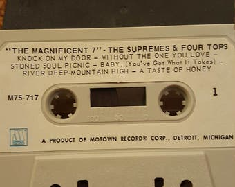 The Magnificent 7 cassette tape-1970