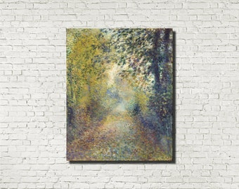 Pierre-Auguste Renoir, French Impressionist Fine Art Print : In the Woods, French Artist