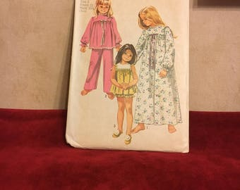 Pattern Child's Pajamas