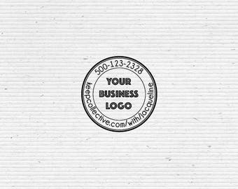 Personalized Business Consultant, Distributor Business Stamp BIZR003