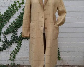 1990's DKNY Wool Duster, MED/LRG