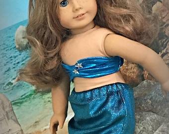 "Mermaid set for 18"" dolls"