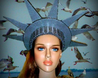 Liberty Statue Headpiece . July 4 th Celebration, National Day Celebration, Liberty Celebration