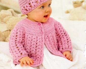Crochet Jacket Etsy