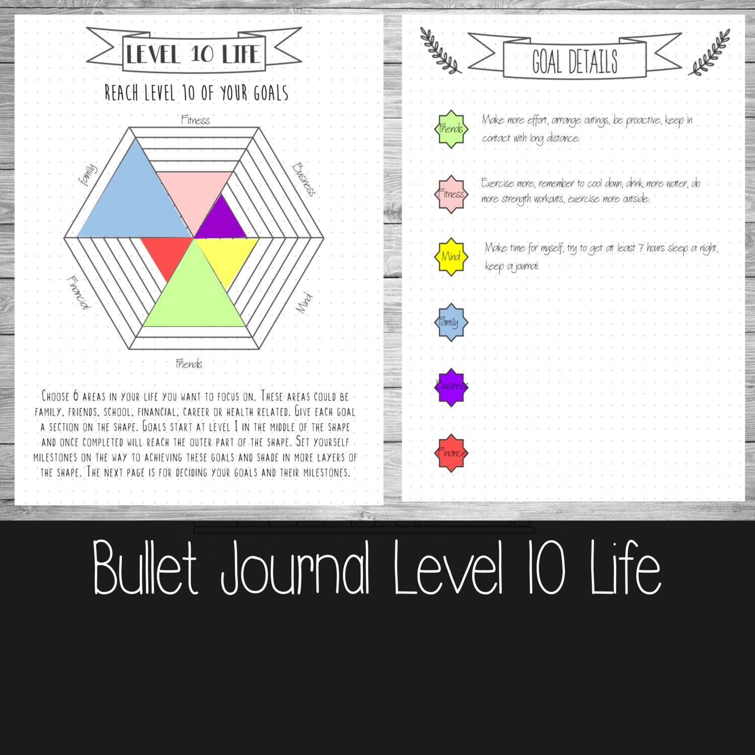 bullet journal level 10 life a4a5 and us letter. Black Bedroom Furniture Sets. Home Design Ideas