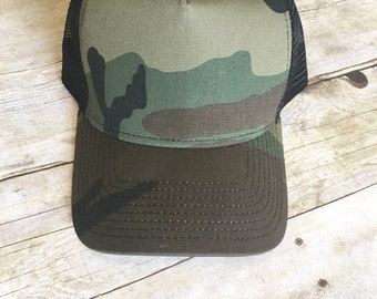Adult Army snap back hat