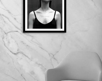Kate Moss poster, Kate Moss Print, fashion wall art, fashion photography, black and white photography, digital download, instant download