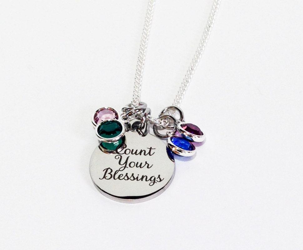 Christmas gifts for mom for grandma birthstone jewelry for Jewelry for mom for christmas