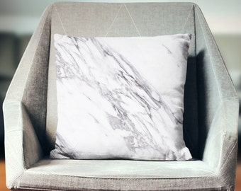 Hostess Gift | Marble Decor | Marble Pillow | Marble Throw Pillow | Marble Pillow Cover | Marble Decor | Marble Cushion