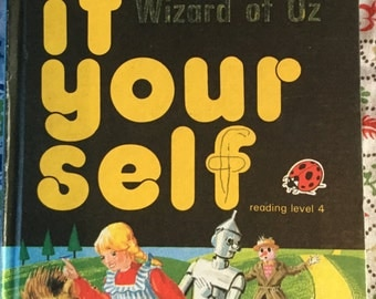 Vintage Ladybird Classic Book - The Wizard of Oz