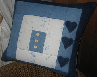 Handmade Patchwork Cushion