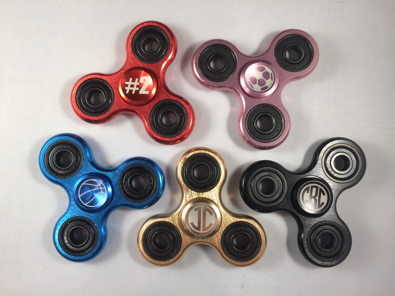 Personalized Metal Fidget Spinner Metal Spinner Fidget Spinner