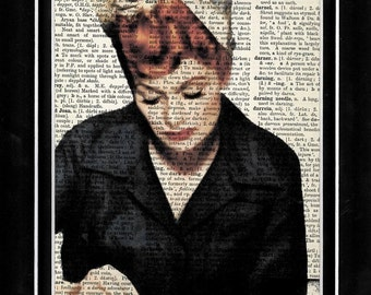 331 I Love Lucy/Lucille Ball/ vintage dictionary paper