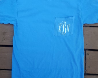 Southern made monogram shirt FRONT & BACK