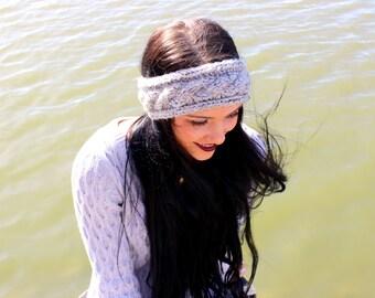 Chunky Cable-Knit Headband