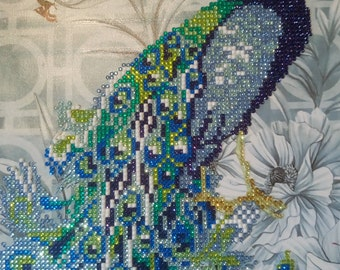 picture. mosaic. Diamond embroidery