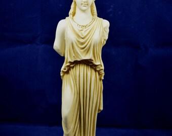 Caryatid sculpture karyatides ancient Greek aged statue