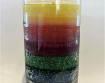 Rainbow Pride Sustainable Candles 80+ hours