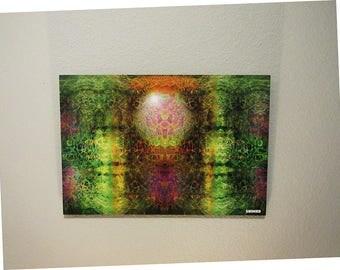 16-A Digital media art piece