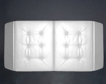 DJ Facade/Booth to cover DJ/Musician/Bar Set-up in Plush White or Black colors