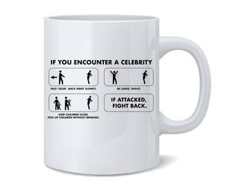 If You Encounter A Celebrity Mug